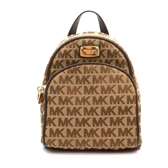 9115b2f83c77 Michael Kors Bags | Abbey Monogram Mini Xs Backpack | Poshmark